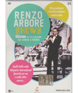 DVD Renzo Arbore Shows vol.5 by Corriere della Sera