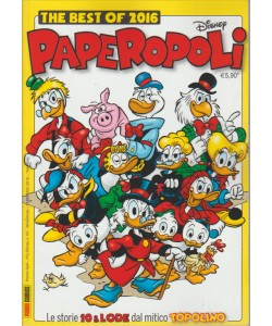 Piu' Disney n. 64 Feb.2016 - The Best Of 2016 Paperopoli