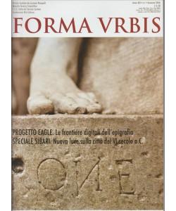 Forma URBIS -  mensile n. 1 Gennaio 2016