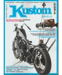 Kustom World Magazine - bimestrale n. 34 -  febbraio 2016