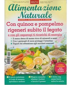ALIMENTAZIONE NATURALE. DIVENTA IL NUTRIZIONISTA DI TE STESSO. MARZO 2016 N. 6