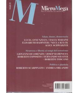 MicroMega per una sinistra illuminista-mensile 2/2016 in edicola dal 10Marzo