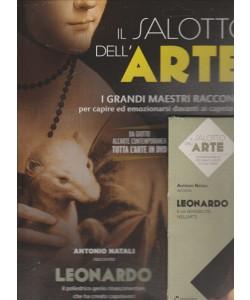 IL SALOTTO DELL'ARTE. ANTONIO NATALI RACCONTA LEONARDO E LA SENSIBILITA' NELL'ARTE.