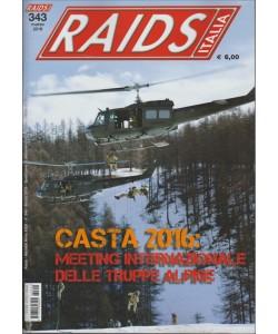 RAIDS ITALIA N. 343 MARZO 2016