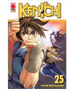 Manga: KENICHI 25 - PLANET ACTION 25 - Planet Manga Panini Comics