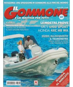 IL GOMMONE w la nautica per tutti - mensile n. 347 Aprile 2016