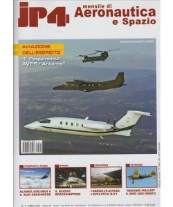 JP4. MENSILE DI AERONAUTICA E SPAZIO. N. 4 APRILE 2016
