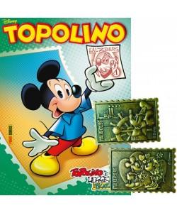 Disney Topolino - Francobolli in metallo
