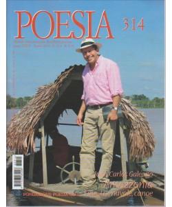 POESIA. N. 314. APRILE 2016. MENSILE INTERNAzionale di cultura poetica.
