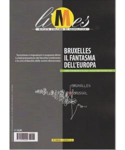 LIMES. RIVISTA ITALIANA DI GEOPOLITICA. BRUXELLES IL FANTASMA DELL'EUROPA. N. 3. 2016
