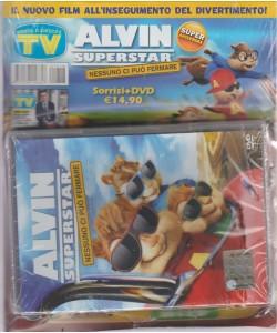 ALVIN SUPERSTAR. NESSUNO CI PUO' FERMARE. SORRISI + DVD . IL NUOVO FILM ALL'INSEGUIMENTO DEL DIVERTIMENTO!