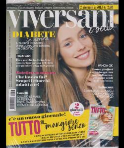 Viversani e belli - n. 47 - settimanale - 16/11/2018 - + Tutto su...mangiare senza - 2 giornali