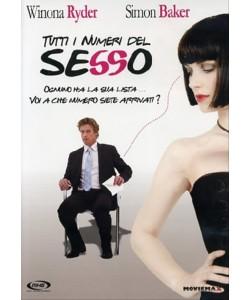 Tutti I Numeri Del Sesso - Winona Ryder, Leslie Bibb, Simon Baker (DVD)