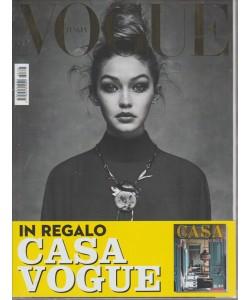 VOGUE ITALIA. N. 788. IN REGALO CASA VOGUE N. 45. APRILE 2016.