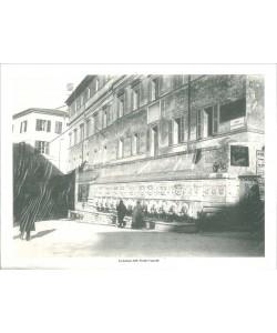 Poster ANCONA cm. 39,5 x 29,5 La fontana delle Tredici cannelle