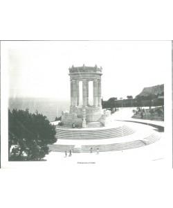Poster ANCONA cm. 39,5 x 29,5 Il monumento ai caduti