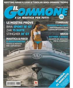 IL GOMMONE E LA NAUTICA PER TUTTI. N. 348. MAGGIO 2016.