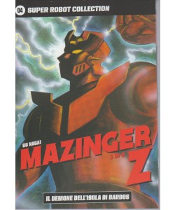SUPER ROBOT COLLECTION. N. 4 GO NAGAI MAZINGER Z-il demone dell'isola di Bardos 2/9