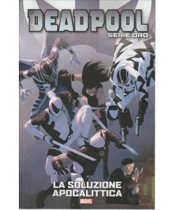 """DEADPOOL Serie oro vol.12 """"LA SOLUZIONE APOCALITTICA"""" by Tuttosport"""
