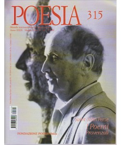 POESIA N. 315. MAGGIO 2016.