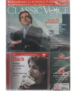 CLASSIC VOICE.  2 CD BAHRAMI E LE SCONOSCIUTE SONATE DI BACH. ALBUM MOISEIWITSCH, L'ARTE DIMENTICATA DEL SUPERPIANISTA. N. 204 MAGGIO 2016.