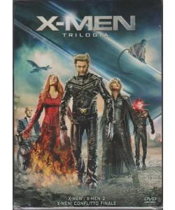 X-MEN TRILOGIA. COFANETTO DA COLLEZIONE 3 FILM. X-MEN. X-MEN 2. X-MEN: CONFLITTO FINALE.