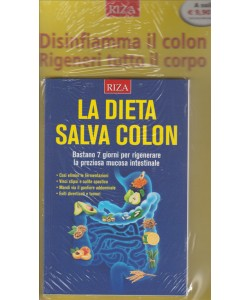 LA DIETA SALVA COLON.  N. 170. GIUGNO 2016.