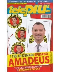 """Telepiù - settimanale n. 25 - 13 Maggio 2017 """"i 3 denari sfidano Amadeus"""""""