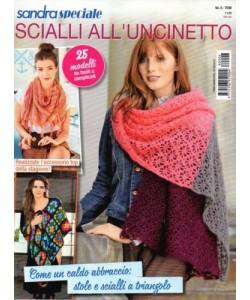 Sandra Speciale - Scialli All'uncinetto - n. 6 - trimestrale - 9/8/2018