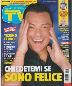 Sorrisi e Canzoni tv - n. 47 - 26 novembre 2019 - settimanale