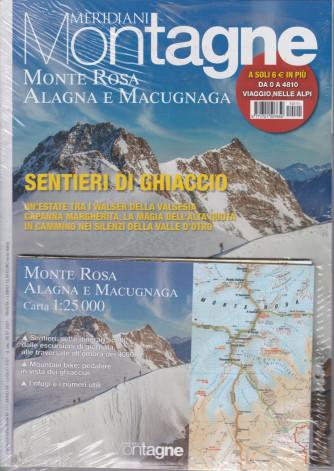 Meridiani Montagne - n. 111 -Monte Rosa Alagna e Macugnaga - bimetrale - n. 111 - luglio 2021 +   Da 0 a 4810 - Viaggio fotografico nelle Alpi - 2 riviste