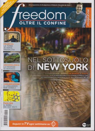 Freedom Magazine - Oltre il confine - n. 12 - mensile - gennaio 2021