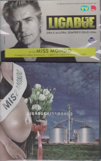 Cd Sorrisi Collezione 2 - n. 21 - Ligabue  -8° cd -Miss Mondo-    18/5/2021 - settimanale - formato maxi digipack + libretto inedito -