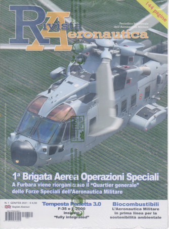 Rivista Aeronautica - n. 1 - gennaio - febbraio 2021 - bimestrale