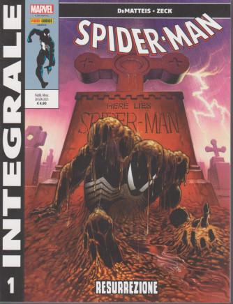 Marvel Integrale - Spider-man - n. 25 - Resurrezione- mensile - 28 gennaio 2021