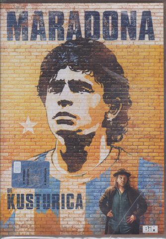 I Dvd di  Sorrisi Collection 3 -  n. 2- Maradona by Kusturica - 10/12/2020 - settimanale