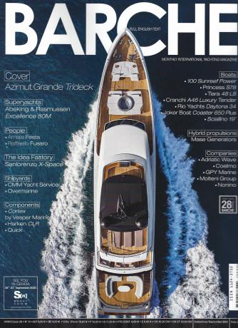 Barche - n. 9 - mensile -settembre -  2021 -italiano - inglese