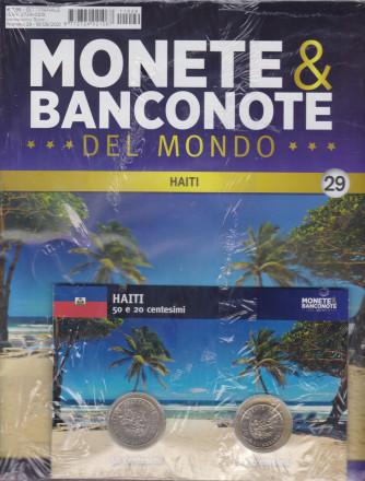 Monete e banconote del mondo uscita 29 - settimanale -18/8/2021  - Haiti - 50 e 20 centesimi