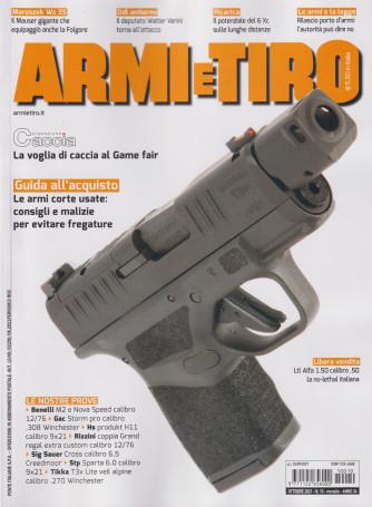 Armi e Tiro - n. 10  ottobre  2021 - mensile