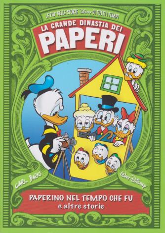 La grande dinastia dei paperi -Paperino nel tempo che fu e altre storie - n. 3 - settimanale