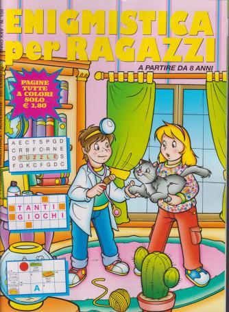 Enigmistica per ragazzi - n. 159 - bimestrale - novembre - dicembre 2021 - 52 pagine tutte a colori