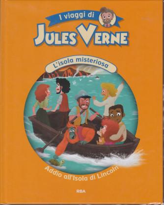 I viaggi di Jules Verne - L'isola misteriosa - Addio all'Isola di Lincoln- n. 13  - settimanale - 11/12/2020 - copertina rigida