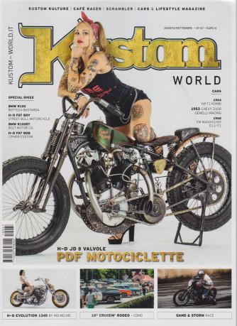 Kustom World - n. 67 -  agosto - settembre 2021 - bimestrale