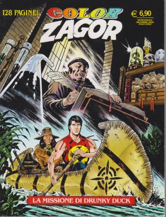 Color Zagor - n. 12 - La missione di Drunki Duck - semestrale - dicembre 2020 - 128 pagine!