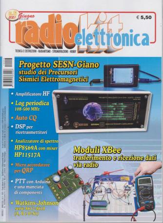 Radiokit elettronica - n. 6  - mensile - giguno 2021