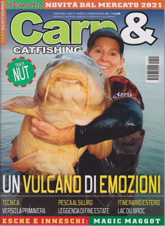 Carp & Catfishing - n. 45 - trimestrale - febbraio - maggio 2021