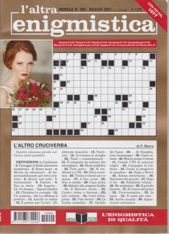 L'altra enigmistica - n. 499 - maggio  2021 - mensile