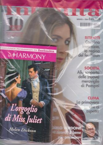 Intimita' + i grandi romanzi di Intimità by Harmony -L'orgoglio di Miss Juliet - n. 12 - 31 marzo 2021 - settimanale - rivista + libro Harmony