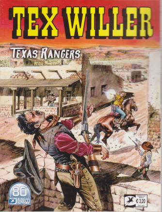 Tex Willer - Texas Rangers  - n. 28 - febbraio  2021 - mensile