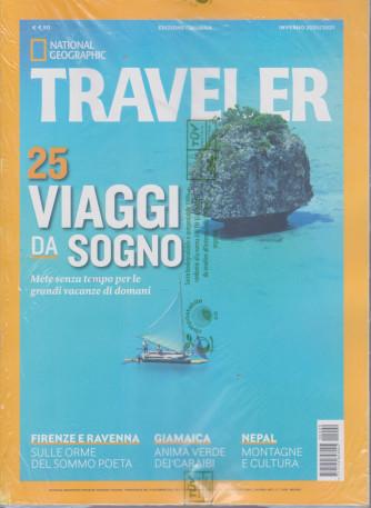 National Geographic Traveller - 25 viaggi da sogno - inverno 2020/2021 - n. 11 - trimestrale  - 10 dicembre 2020